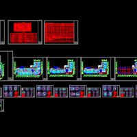 某快捷酒店装修设计全套施工图