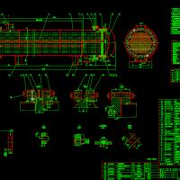 浮头式换热器设计图纸(CAD图)