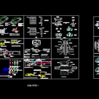 中央空调cad图例及安装大样图