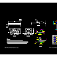 D700污水井及管道CAD详图