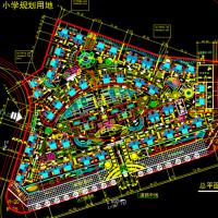 某多高层住宅小区规划设计CAD图