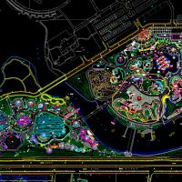 游乐场及水上乐园规划设计CAD图