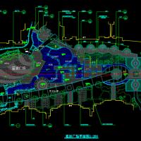 蓝波广场总平面规划CAD图