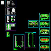 某地高层住宅楼采暖 排烟 人防设计施工图