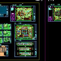 北京某人防地下室建筑设计图纸
