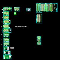 石家庄某23层高层住宅建筑图(带人防储藏间)