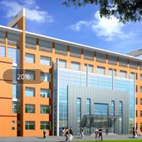6层框架结构办公楼建筑设计cad图(4200平米)