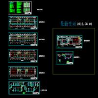 某地六层办公楼上供下回采暖系统图