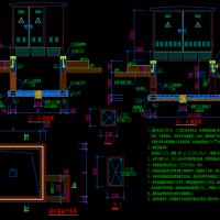 管廊工程室外箱变基础设计图