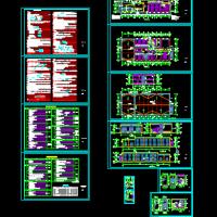 某地厂区小型消防站建筑设计图纸