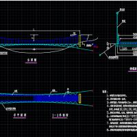 柔性吊桥设计通用图纸(可用于景区吊桥设计参考)