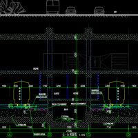 合肥市轨道交通3号线清溪路设计图(地铁站图纸)