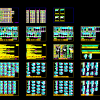 某研发基地供配电及火灾自动报警系统设计施工图纸