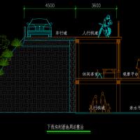 景观木栈道CAD设计详图