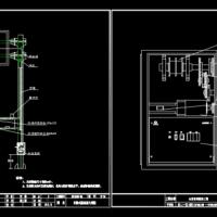 市政道路升降式限高架CAD图纸