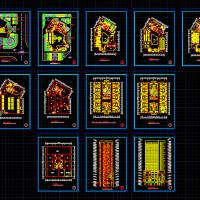 某地大型宾馆建筑方案图