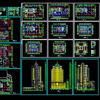 某高层酒店建筑设计施工图纸