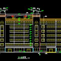 现代多层旅社宾馆酒店建筑设计施工图
