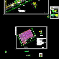 某地公墓陵园墓区建筑设计CAD施工图