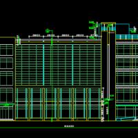 某地五层框架结构酒店建筑设计图纸(U型布置)