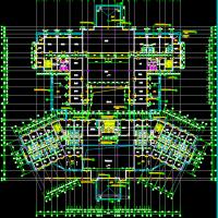 旅游区酒店宾馆建筑方案图纸