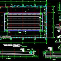 某25米室内游泳池建筑设计CAD详图