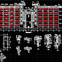 5层框架结构教学楼全套图纸(工程量计算及清单编制实例3200平)