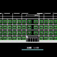 四层办公楼建筑结构全套图(工程量计算实例及毕业设计清单5400平)