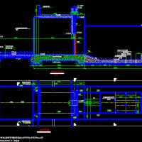 小型排水闸结构及配筋CAD图纸