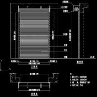 消音门 卷闸门 卷帘门CAD图纸