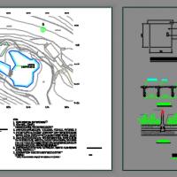 水溪雾森水景设计CAD施工图纸