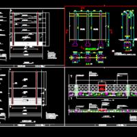 国家高速公路隔音屏结构图(含设计说明)