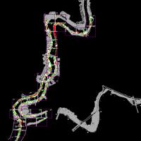 河道亮化照明竣工CAD图纸