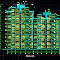 花园式高层住宅全套施工图(11层)