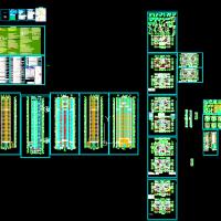 山西某地30层高层住宅楼建筑设计施工图(带节能计算)[原创]