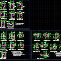 建筑施工图设计-厨房卫生间设计详图