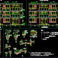 建筑施工图设计-阳台 凸窗 飘窗详图参考