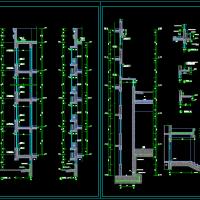 建筑设计之-带保温墙身大样详图(含飘窗 窗井 阳台)原创版