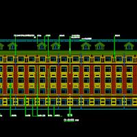 5层框架结构宿舍楼毕业设计(含施组图纸6000平米)