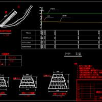 铅丝笼丁坝CAD图纸(钢筋石笼)