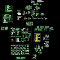 建筑设计之-地下车库建筑详图