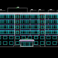 6247平米7层框架结构公寓楼毕业设计(图纸 施组 施工总平 计算书)