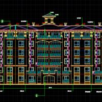 3381平米六层砖混住宅楼毕业设计(施组 图纸 预算 施工总平)