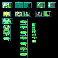 山西某地9层办公楼建筑设计全套图纸(带说明绿建做法8716平米)