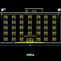 5324平米钢框架办公楼毕业设计(计算书pdf、建筑、结构图)