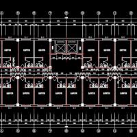 5587平米六层框架结构商务楼毕业设计(含计算书)