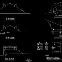 3134米二级公路路基宽10米毕业设计(计算书、概预算表格、CAD图)
