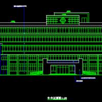 6200平米5层框架结构门诊楼全套课程设计(计算书 建筑图 结构图 施工总平)