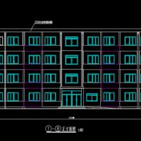 3878平米三层框架结构宿舍楼毕业设计(含建筑图 结构图 计算书)