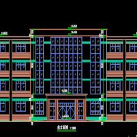 河南2985平米四层框架结构社区卫生服务中心全套图(建结水电暖)